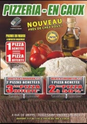 Menu Pizzeria En caux - Carte et menu Pizzeria En caux Saint Valery en Caux