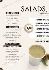 Menu All-In Bagels - Les salades