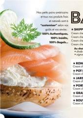Menu All-In Bagels - Les bagels