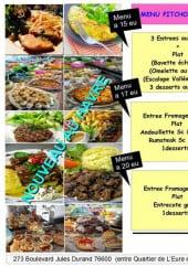 Menu La Loca - Les menus