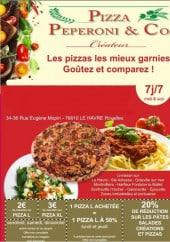 Menu Pizza Peperoni - carte et menu pizza peperoni