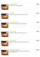 Menu Pizzarella - Les pizzas classiques