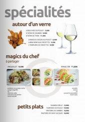 Menu Magic Sushi - Les spécialités