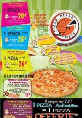 Menu Pizza rella - Les informations sur la livraison