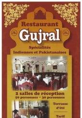 Menu Gujral - Carte et menu Gujral Pontault Combault