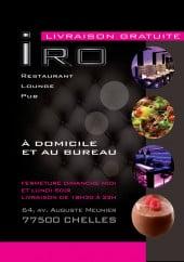 Menu Iro - Carte et menu Iro chelles