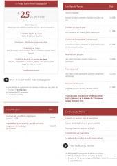 Menu La goujonnette - Les entrées et plats du terroir, le grand buffet et les petits plus