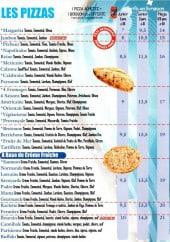 Menu Pizza Chelles - Les Pizzas