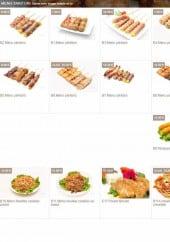 Menu D.sushi - Le menu Yakitori