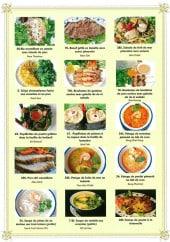 Menu Mille Eléphants - Les riz, bœuf grillé, salades...