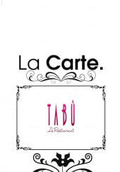 Carte et menu Tabu sushi Lounge, Bussy Saint Georges