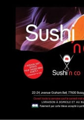Menu Sushi & CO - Carte et menu Sushi & CO Bussy Saint Georges