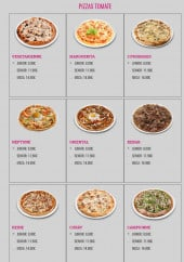 Menu L'Orient Fast - Pizzas tomates