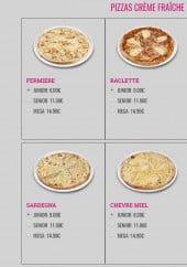 Menu L'Orient Fast - Pizzas crème fraîches