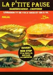 Menu La P'tite Pause - Carte et menu la p'tite pause Versaille