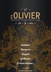 Menu L'Olivier - Carte et menu L'Olivier Les Mureaux