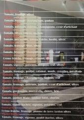 Menu Divina Italia - Les pizzas