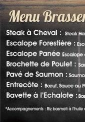 Menu Le 68 - Menu brasserie