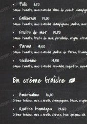 Menu The Guest - Les pizzas suite