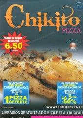 Menu Chikito pizza - Carte et menu Chikito pizza Maurepas