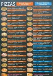 Menu Chikito pizza - Les pizzas
