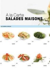 Menu To sushi - Les salades maison