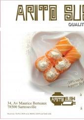 Menu Arito Sushi - Carte et menu Arito Sushi Sartrouville