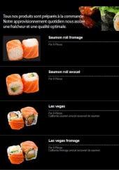 Menu Ayumi Sushi -  Saumon roll