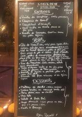 Menu Francky's - Exemple de menu