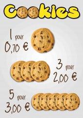 Menu La Grignotine - Cookies