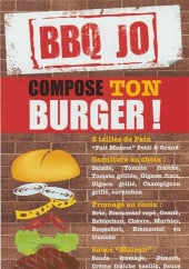 Menu Bbq Jo - Burger personnalise