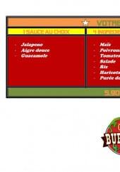 Menu Casa Burritos - Les burritos