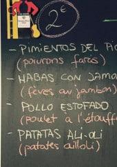 Menu El Tablao Cafe&Tapas - Les tapas