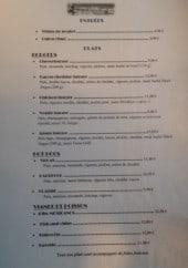 Menu N Y's Dinner & Coffee - Entrées et plats