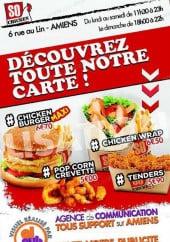 Menu So Chicken - Carte et menu So Chicken Amiens