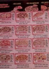 Menu Croosty Pizza - les pizzas