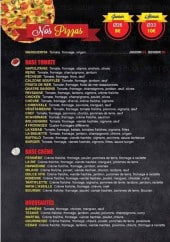 Menu Pizza Rif - Pizzas