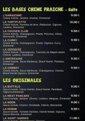 Menu Pizza Saint Sardos - Les pizzas suite