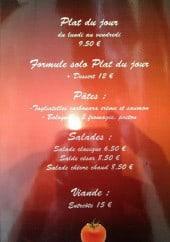 Menu Bistro Pizza - Les informations sur le menu