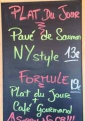 Menu L'Abri-Cotier - Exemple de plat du jour et formule