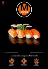 Menu M sushi - Carte et menu M sushi Callian