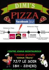 Menu Dimis pizza - Les informations supplementaires