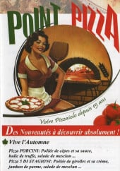 Menu Point Pizza - Carte et menu Point Pizza Puget sur Argens