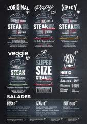 Menu Papy Burger - Les burgers et salades