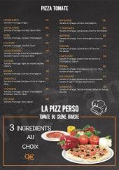 Menu Pizz' & chips - Les pizzas