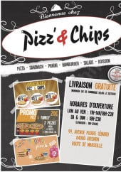 Menu Pizz' & chips - Carte et menu pizz' & chips avignon