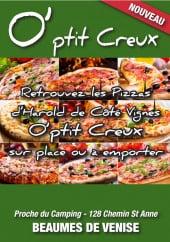 Menu O' Ptit Creux - Carte et menu O' Ptit Creux Beaumes de Venise