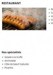 Menu Côté Jardin - Les spécialités