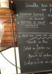 Menu Les Pins - Exemple de menu