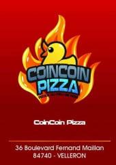 Menu Coincoin Pizza - Carte et menu Coincoin Pizza  Velleron
